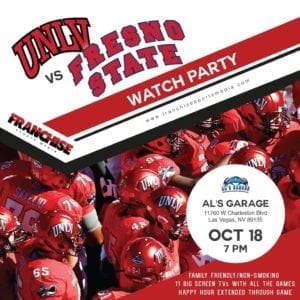 New UNLV Football Preview Week 8 - Rebels vs Fresno State
